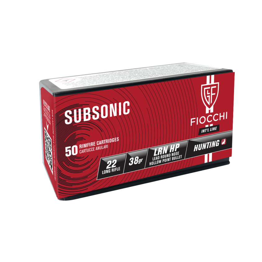 22 L.R. SUBSONIC