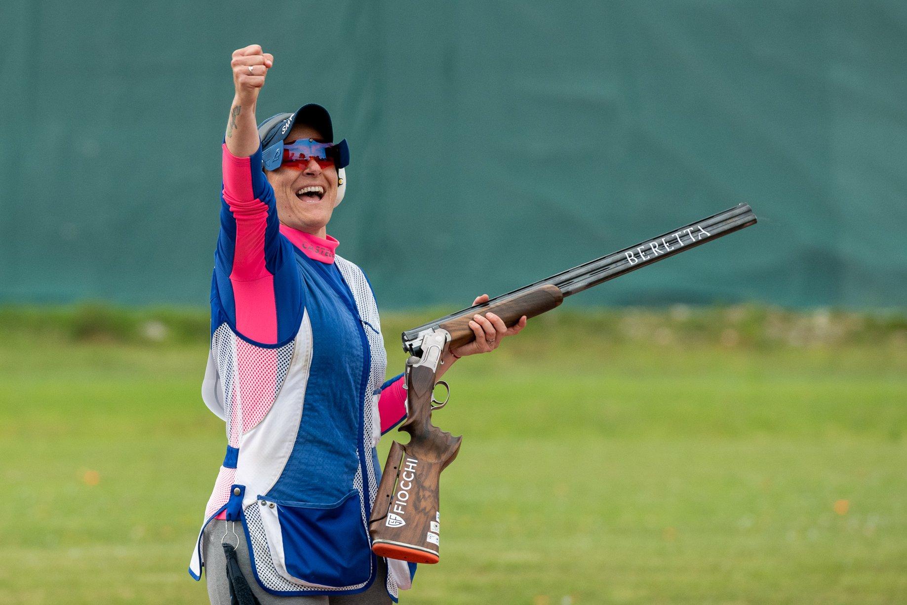 SHOTGUN: FIOCCHI WON 8 MEDALS AT THE ISSF WORLD CUP IN LONATO DEL GARDA