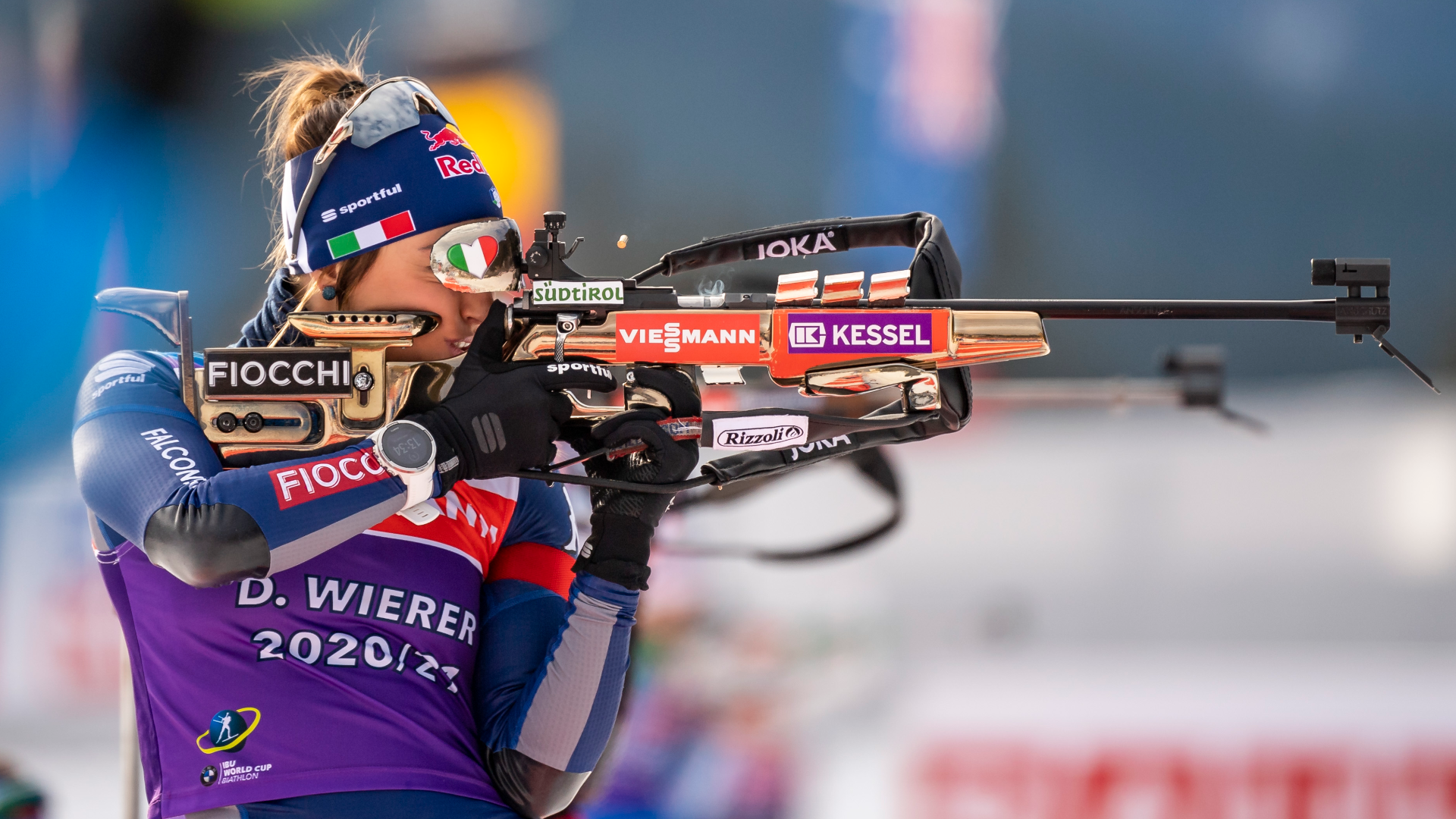 BIATHLON. ANOTHER MEDAL FOR DOROTHEA WIERER IN HOCHFILZEN.