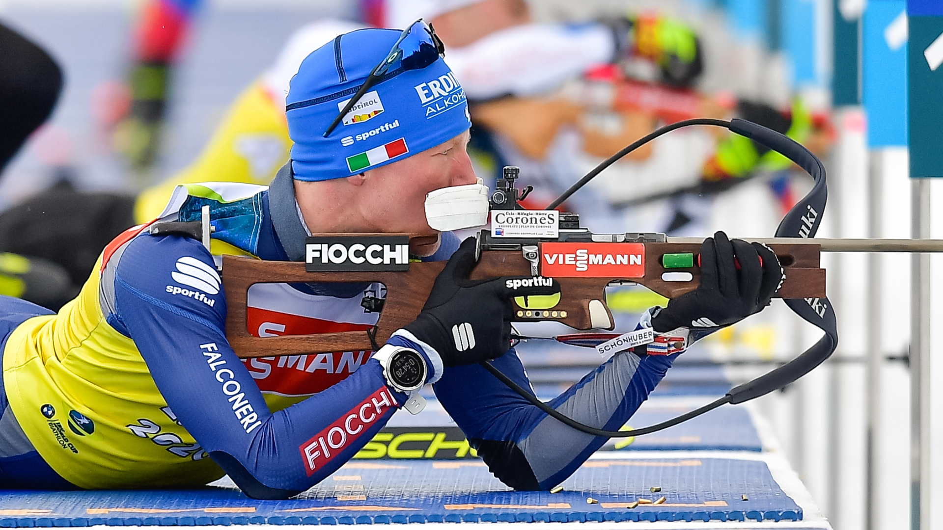 BIATHLON. EXCELLENT PLACINGS IN ANTHOLZ