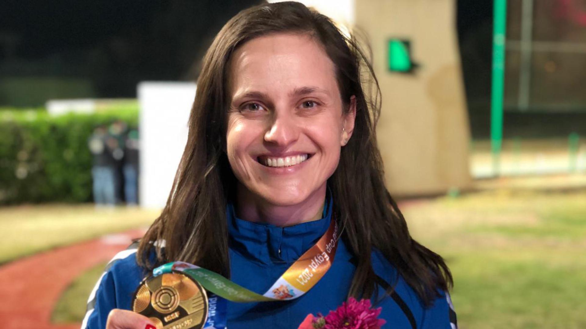 SHOTGUN. DANKA BARTEKOVA WINS FIOCCHI TEAM'S FIRST GOLD MEDAL IN CAIRO