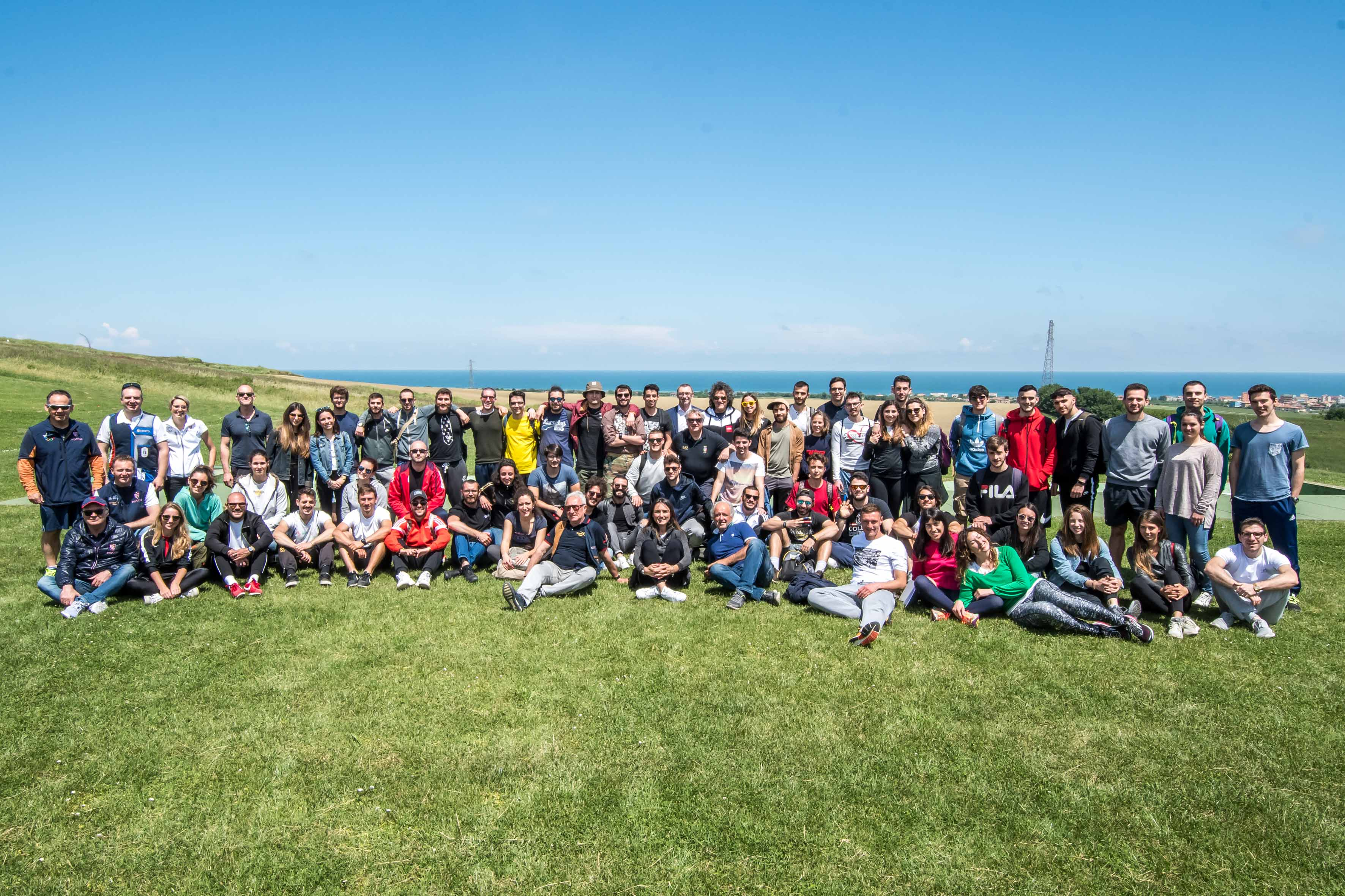 FIOCCHI INTRODUCES MORE THAN 70 STUDENTS OF THE UNIVERSITY OF URBINO TO CLAY SHOOTING
