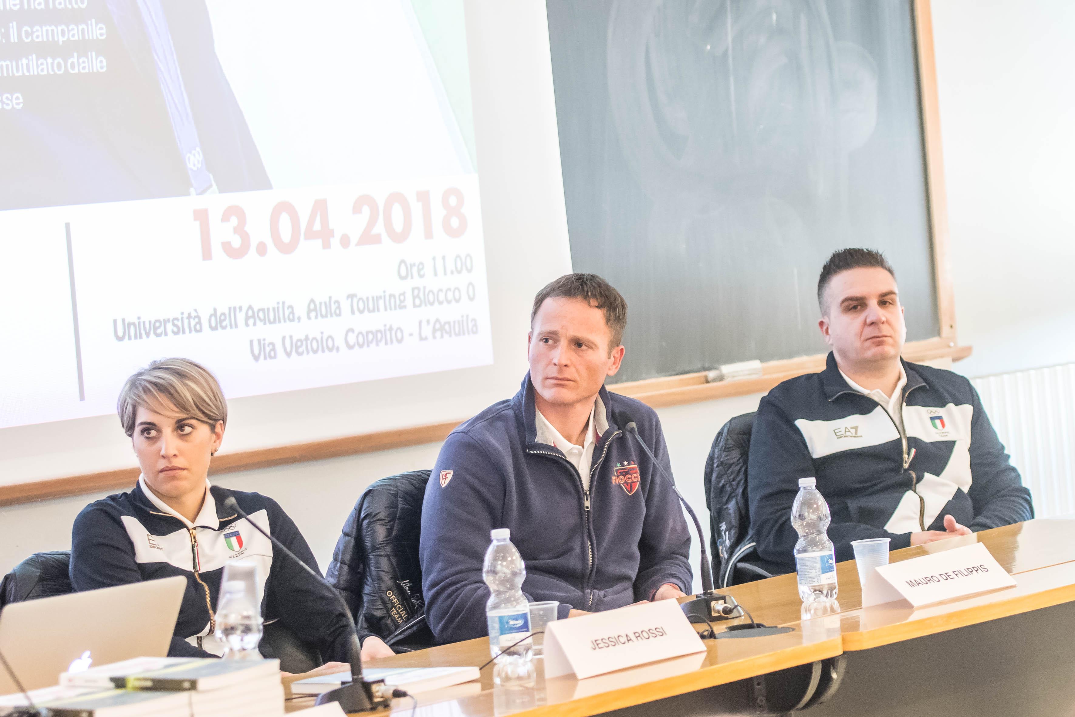 FIOCCHI MEETS 100 STUDENTS IN L'AQUILA