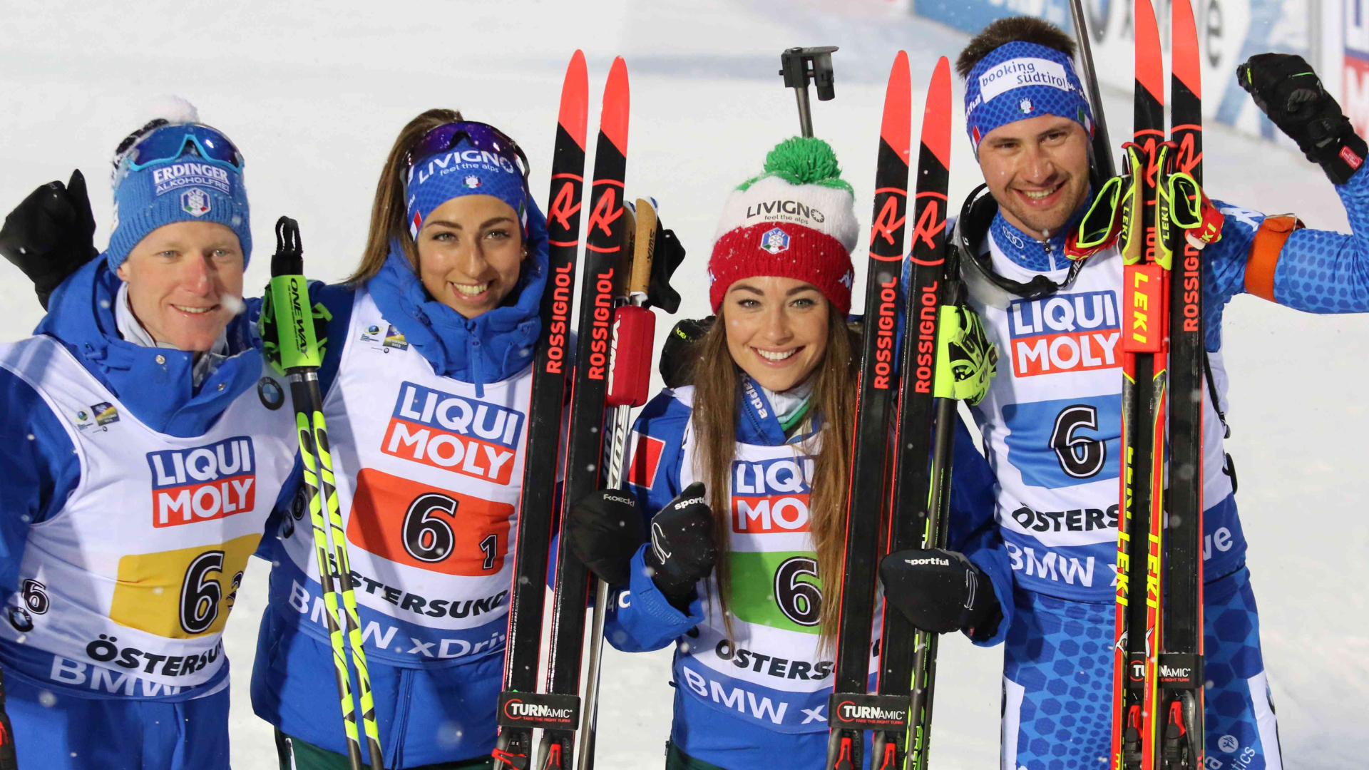 BIATHLON: TEAM ITALY STANDS OUT AS THE PROTAGONIST IN OESTERSUND