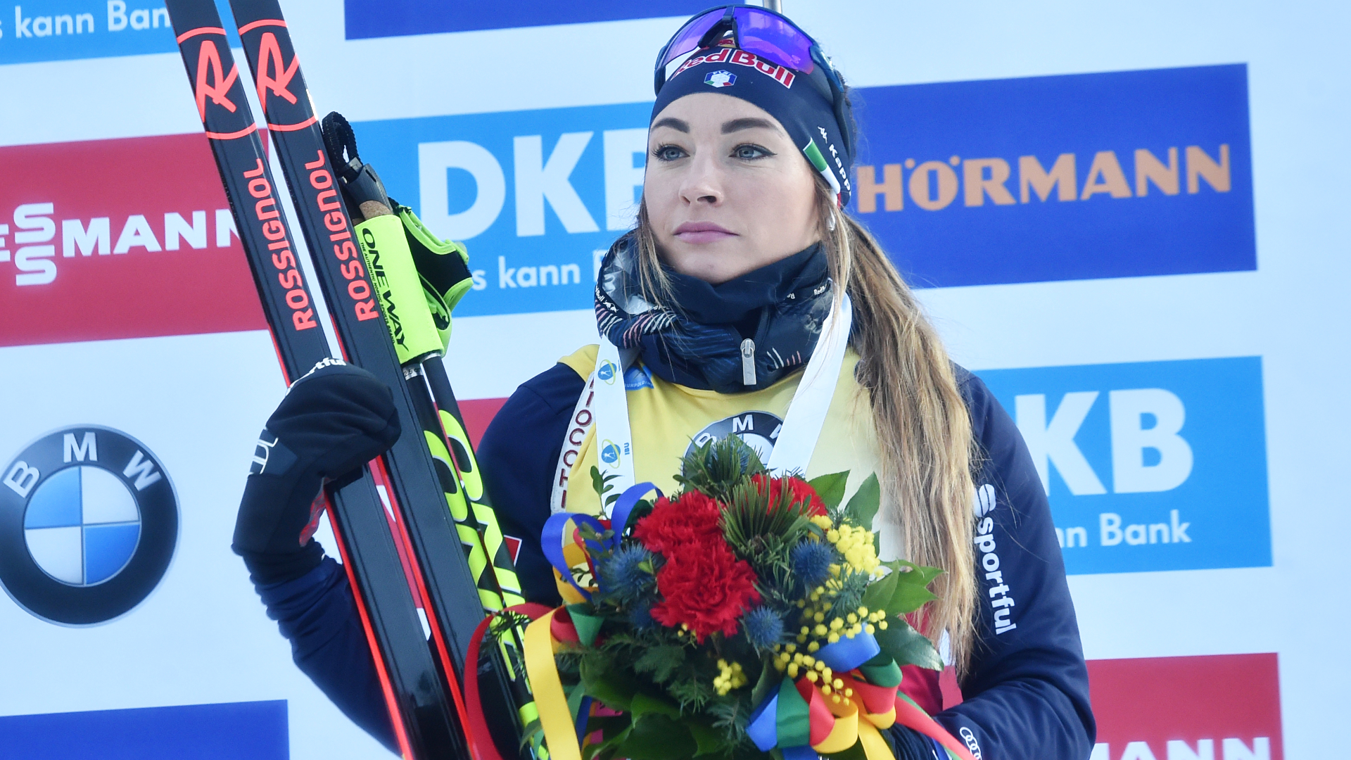 BIATHLON. ANOTHER BRONZE MEDAL IN RUHPOLDING