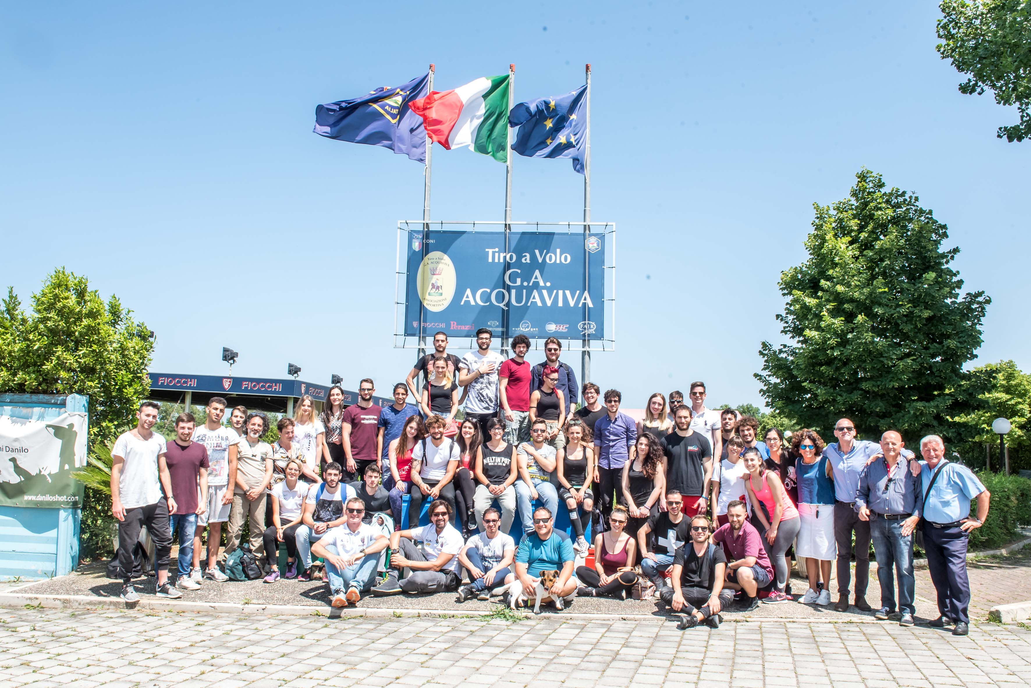 THE UNIVERSITY STUDENTS OF L'AQUILA CRUSHED CLAYS WITH FIOCCHI