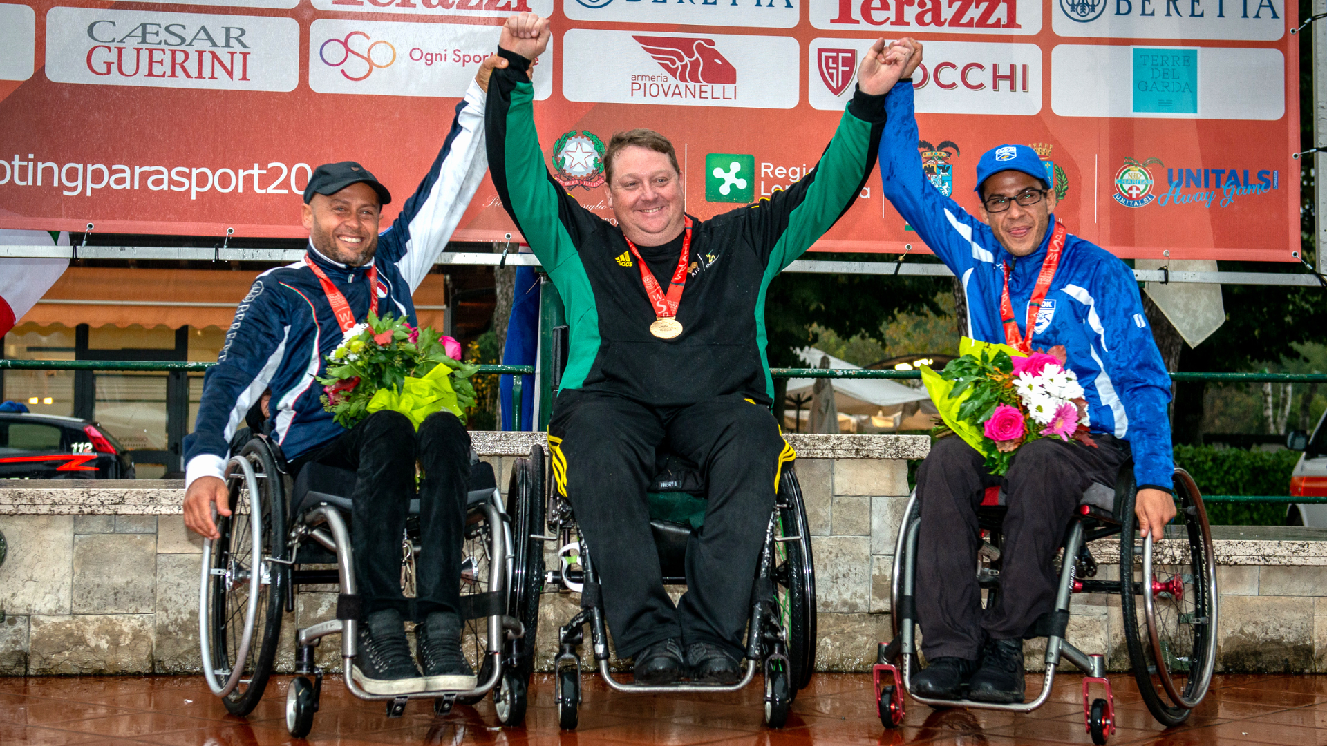 FIOCCHI ON THE TOP OF PARA TRAP WORLD CHAMPIONSHIP