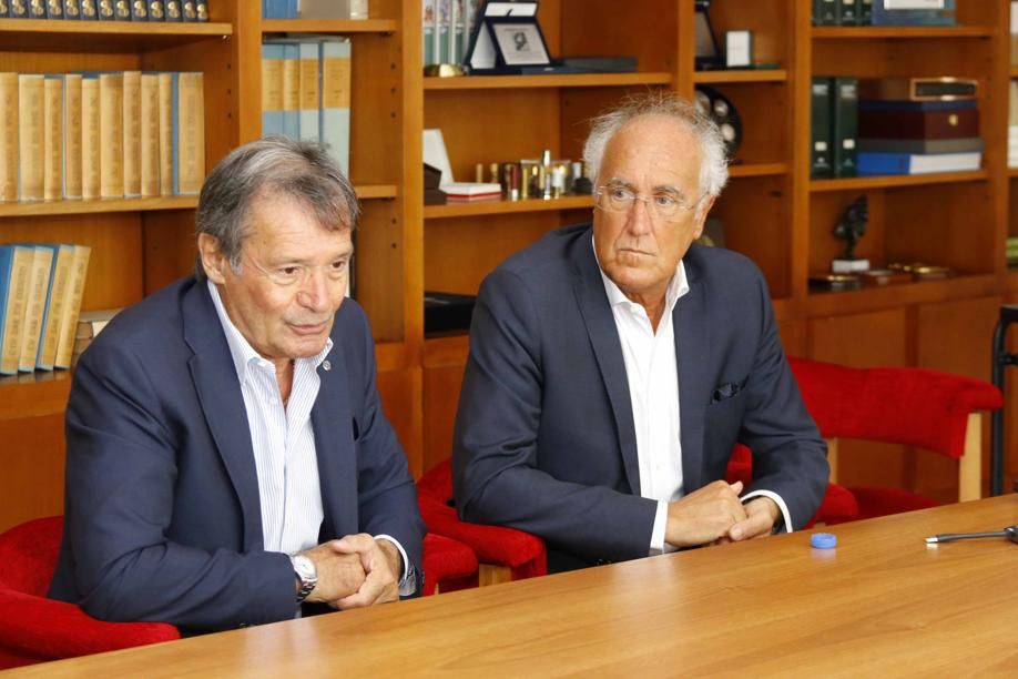 FLAVIO RODA, PRESIDENT OF FISI, VISITS THE HEADQUARTERS OF FIOCCHI MUNIZIONI