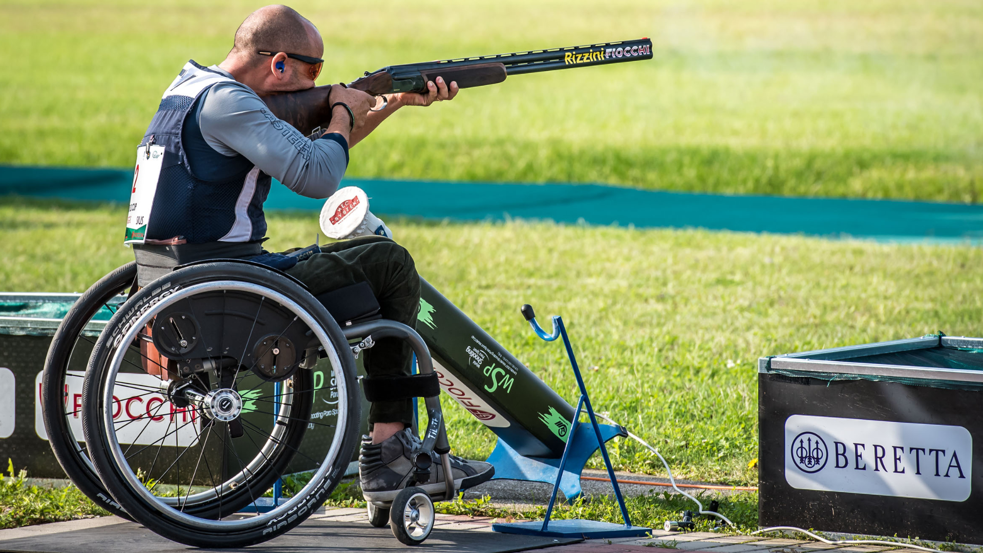 FIOCCHI WILL SPONSOR THE FIRST PARA TRAP WORLD CHAMPIONSHIP