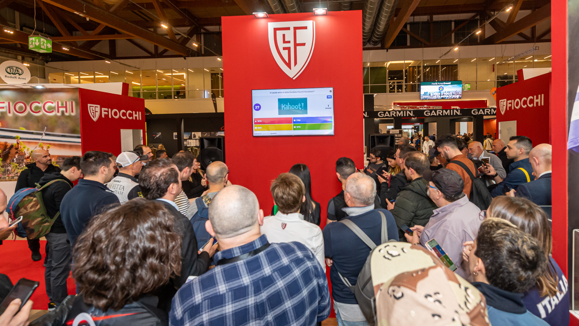 HIT SHOW: THOUSANDS OF VISITORS AT FIOCCHI'S STAND