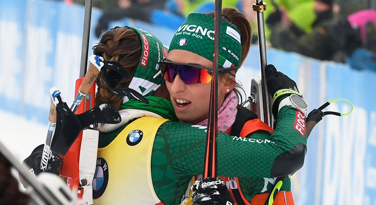 BIATHLON: THE ITALIAN TEAM STANDS OUT IN OBERHOF