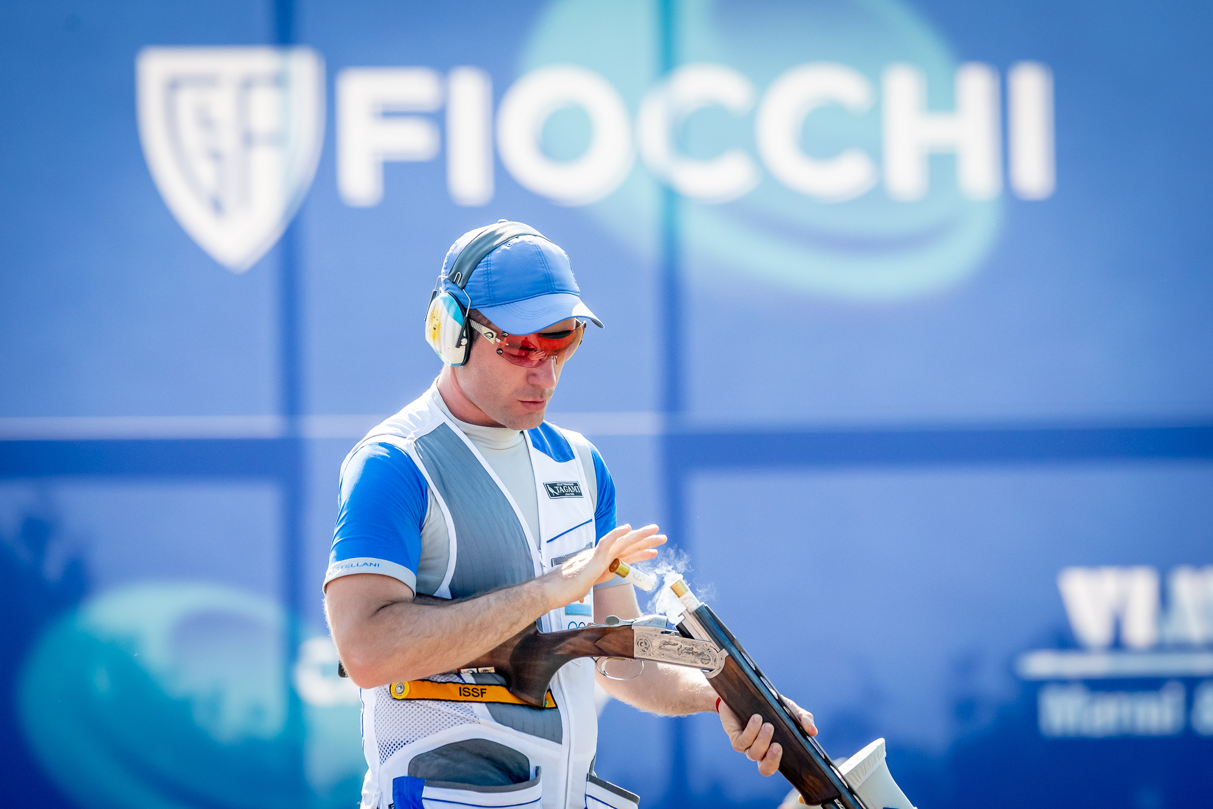 SHOTGUN. TWO MEDALS IN THE FIRST STAGE OF WORLD CUP
