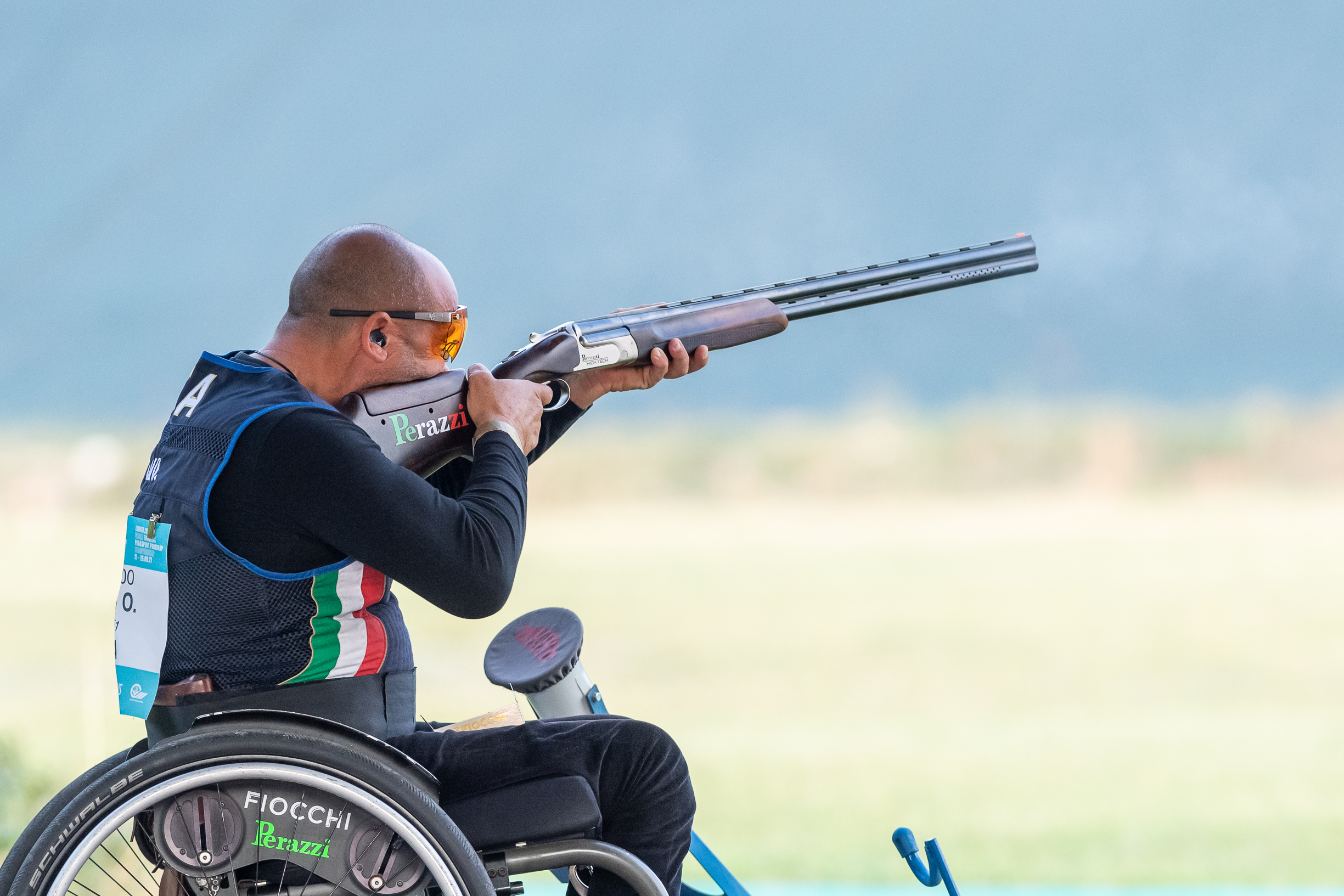PARA TRAP WORLD CHAMPIONSHIP: TWO SILVER MEDALS FOR THE FIOCCHI TEAM